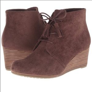 Dr. Scholl's | Dakota Wedge Booties | Dark Brown